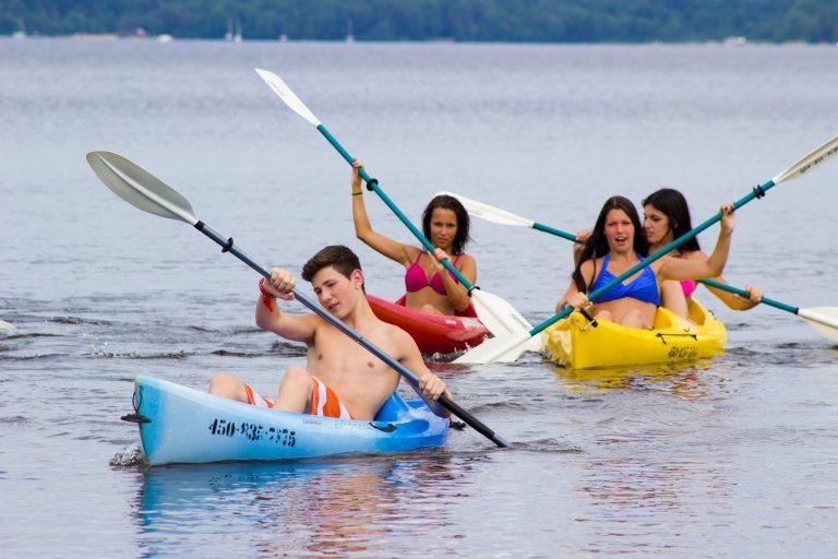 location de Kayak simple ou double